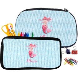 Mermaid Pencil / School Supplies Bag (Personalized)