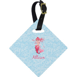 Mermaid Diamond Luggage Tag (Personalized)