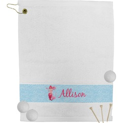 Mermaid Golf Towel (Personalized)
