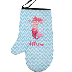Mermaid Left Oven Mitt (Personalized)