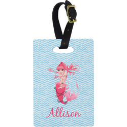 Mermaid Rectangular Luggage Tag (Personalized)
