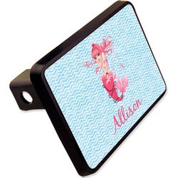"Mermaid Rectangular Trailer Hitch Cover - 2"" (Personalized)"
