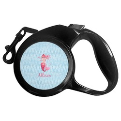 Mermaid Retractable Dog Leash - Multiple Sizes (Personalized)