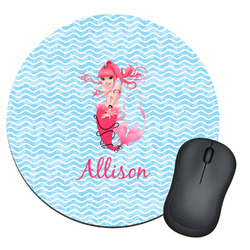 Mermaid Round Mouse Pad (Personalized)