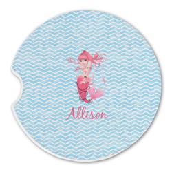 Mermaid Sandstone Car Coasters (Personalized)