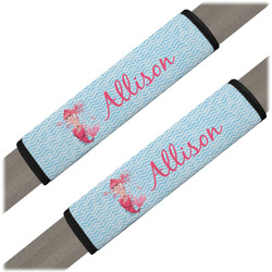 Mermaid Seat Belt Covers (Set of 2) (Personalized)