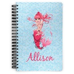 Mermaid Spiral Bound Notebook (Personalized)