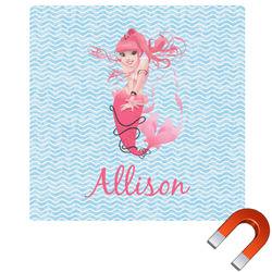 Mermaid Square Car Magnet (Personalized)