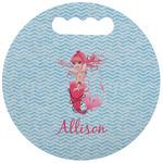 Mermaid Stadium Cushion (Round) (Personalized)