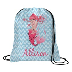 Mermaid Drawstring Backpack (Personalized)