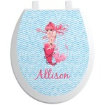 Mermaid Toilet Seat Decal (Personalized)