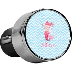 Mermaid USB Car Charger (Personalized)