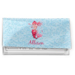 Mermaid Vinyl Checkbook Cover (Personalized)
