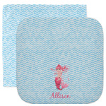 Mermaid Facecloth / Wash Cloth (Personalized)