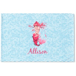 Mermaid Woven Mat (Personalized)