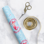 Mermaid Wrapping Paper Roll - Small (Personalized)