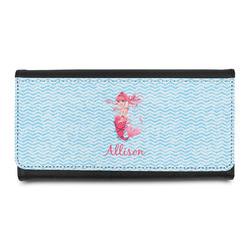 Mermaid Leatherette Ladies Wallet (Personalized)