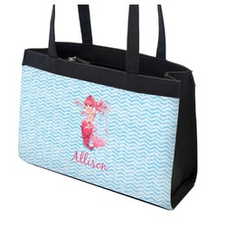 Mermaid Zippered Everyday Tote (Personalized)