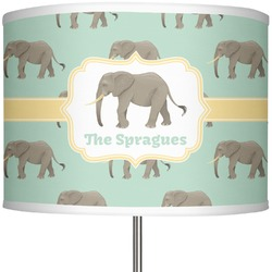 "Elephant 13"" Drum Lamp Shade (Personalized)"