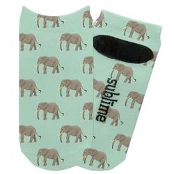 Elephant Adult Ankle Socks (Personalized)