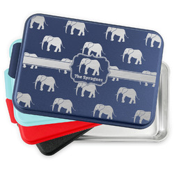 Elephant Aluminum Baking Pan with Lid (Personalized)