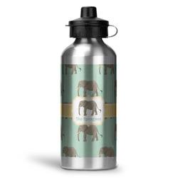 Elephant Water Bottle - Aluminum - 20 oz (Personalized)