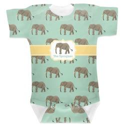 Elephant Baby Bodysuit (Personalized)
