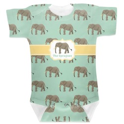 Elephant Baby Bodysuit (Personalized)