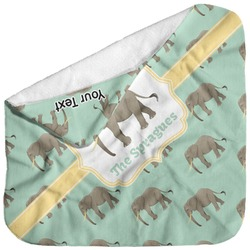 Elephant Baby Hooded Towel (Personalized)