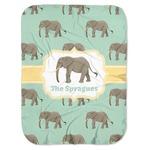Elephant Baby Swaddling Blanket (Personalized)