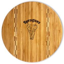 Elephant Bamboo Cutting Board (Personalized)