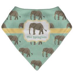 Elephant Bandana Bib (Personalized)