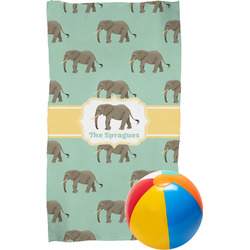 Elephant Beach Towel (Personalized)