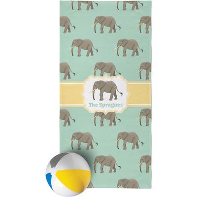 Elephant Beach Towel (Personalized)