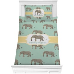 Elephant Comforter Set - Twin XL (Personalized)