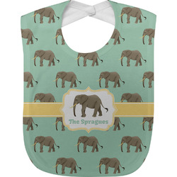 Elephant Baby Bib (Personalized)