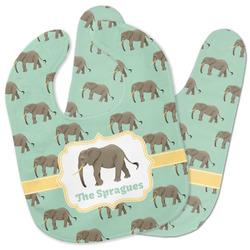 Elephant Baby Bib w/ Name or Text