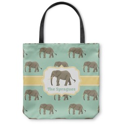 Elephant Canvas Tote Bag (Personalized)