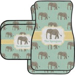Elephant Car Floor Mats (Personalized)