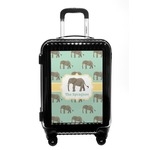 Elephant Carry On Hard Shell Suitcase (Personalized)