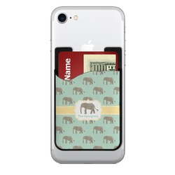 Elephant 2-in-1 Cell Phone Credit Card Holder & Screen Cleaner (Personalized)
