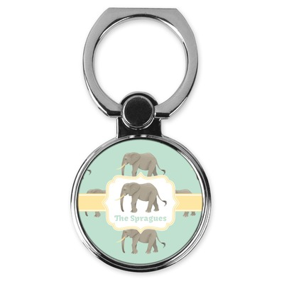 Elephant Cell Phone Ring Stand & Holder (Personalized)