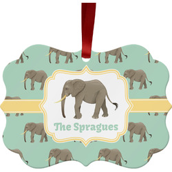 Elephant Ornament (Personalized)