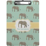 Elephant Clipboard (Personalized)