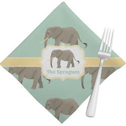 Elephant Napkins (Set of 4) (Personalized)