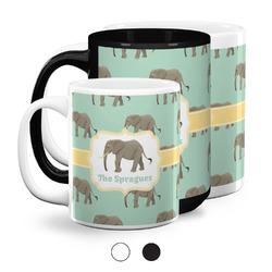 Elephant Coffee Mugs (Personalized)