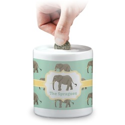 Elephant Coin Bank (Personalized)