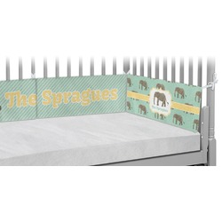 Elephant Crib Bumper Pads (Personalized)