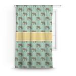 Elephant Curtain (Personalized)