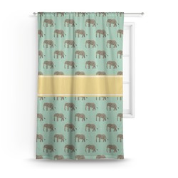 Elephant Curtain (Personalized)